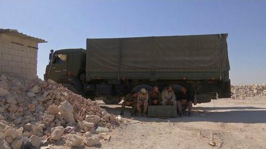 Pháo tự hành tung hoành trên chiến trường Syria - Ảnh 4.