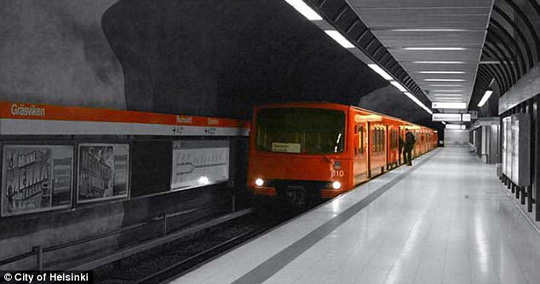Đề phòng Nga, Phần Lan nâng cấp đường hầm bên dưới thủ đô - ảnh 5