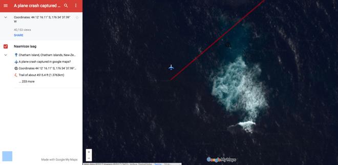 Hình ảnh hiếm có: bằng vệ tinh, Google Maps chụp được cảnh một chiếc máy bay đang lơ lửng giữa trời - Ảnh 4.