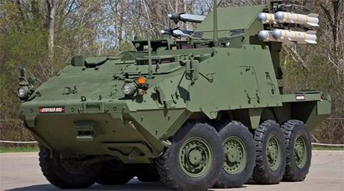 Mỹ giới thiệu phiên bản mới của xe bọc thép Stryker - Ảnh 1.