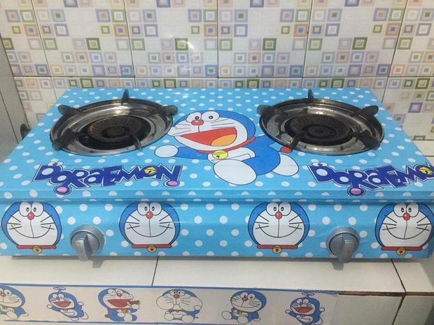 Đây là căn nhà khi hai vợ chồng đều là fan cuồng của mèo ú Doraemon cùng về sống chung! - Ảnh 5.