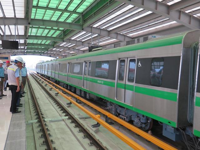 Cận cảnh thiết bị đặc thù của đường sắt Cát Linh - Hà Đông - Ảnh 4.
