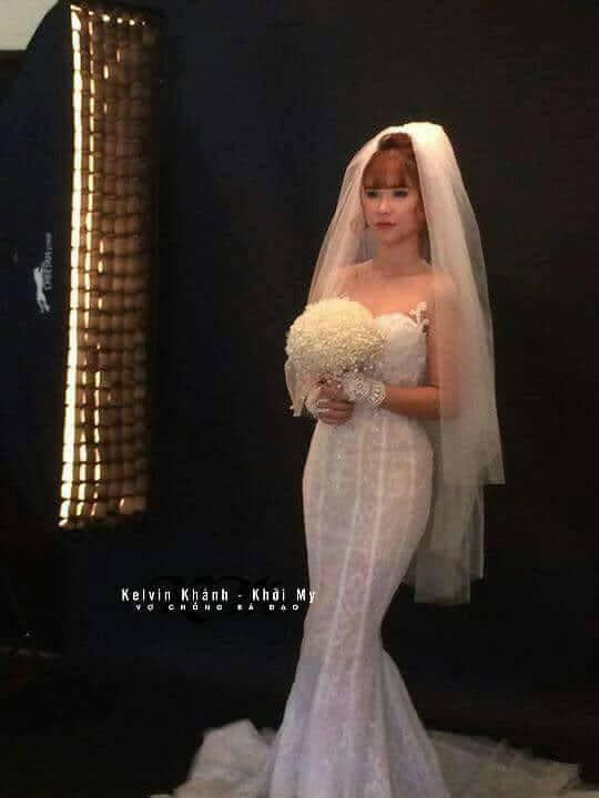 Khởi My e ấp, Kelvin Khánh để tóc dài lãng tử trong hậu trường chụp ảnh cưới - Ảnh 5.