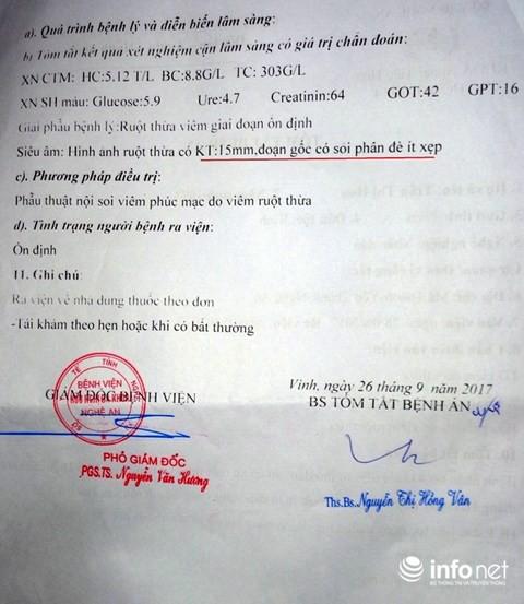 Chuyện kỳ lạ ở Nghệ An: Một bệnh nhân phải cắt ruột thừa... 2 lần - ảnh 4