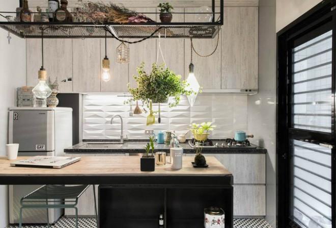 photo 4 1510976213332 Thiết kế căn hộ đẹp nhỏ chỉ vỏn vẹn 30m² nhưng khiến cho bất kỳ ai cũng xiêu lòng