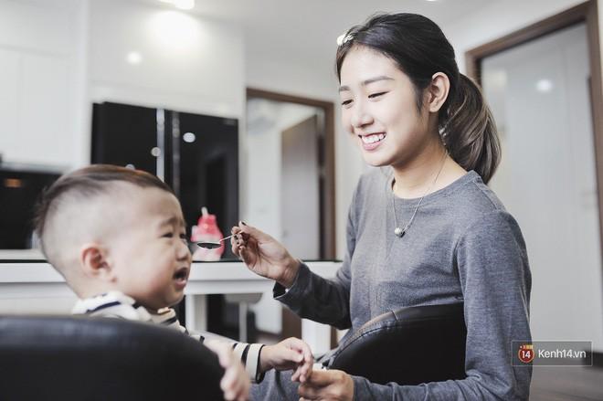 Gia đình trong mơ Trang Lou - Tùng Sơn: Có con là điều khó khăn nhất nhưng cũng hạnh phúc nhất! - Ảnh 6.
