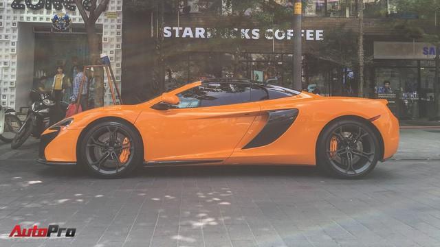 McLaren 650S Spider từng của Minh Nhựa tái xuất trên đường phố Sài Gòn - Ảnh 4.