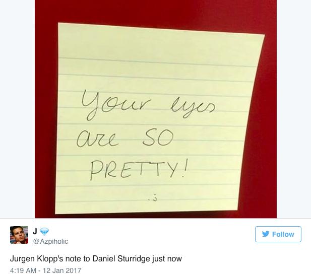 HLV Klopp đã viết gì trong mảnh giấy bí hiểm gửi cầu thủ Liverpool? - Ảnh 5.