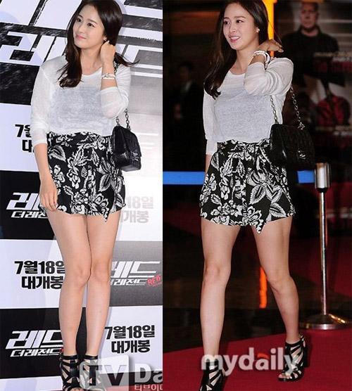 Bí quyết thời trang để Kim Tae Hee trẻ như 18 khi đã gần 40 - Ảnh 2.
