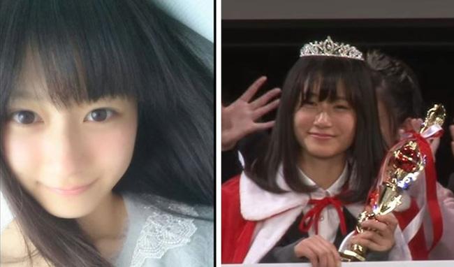 Thí sinh Nữ sinh Trung học đẹp nhất Nhật Bản bị ném đá vì ảnh trên mạng khác xa ảnh ngoài đời - Ảnh 6.