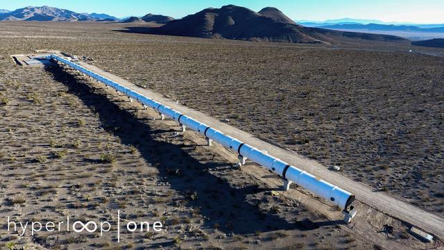 Ngắm nhìn đường tàu Hyperloop thử nghiệm tại sa mạc Nevada - Ảnh 5.