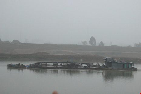 Cận cảnh đoạn sông khiến chủ tịch Bắc Ninh bị de dọa - Ảnh 6.