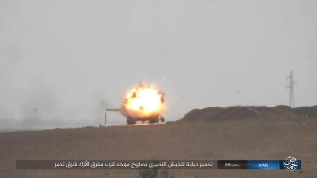 IS bắn tên lửa TOW đánh chặn quân đội Syria - ảnh 5