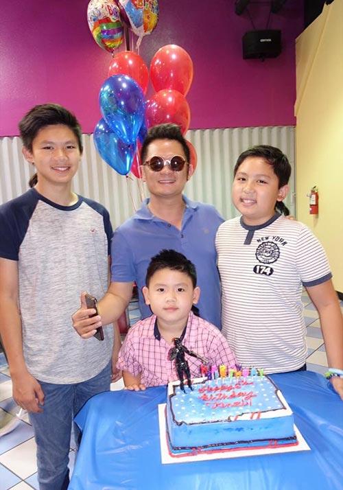 Giữa tin đồn chia tay, Dương Mỹ Linh vắng mặt trong sinh nhật con trai út Bằng Kiều  - Ảnh 2.