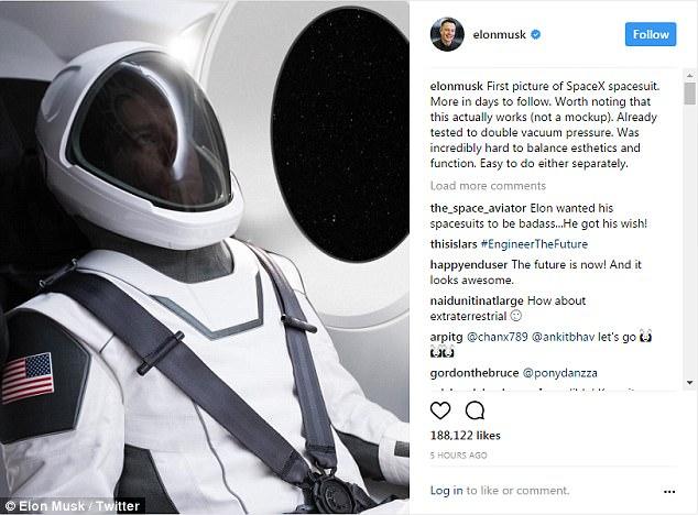 Trang phục không gian thế hệ mới Elon Musk sẽ sử dụng trông như thế nào? - Ảnh 4.