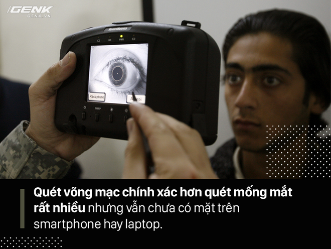 FaceID trên iPhone X, quét mống mắt và Windows Hello khác nhau ra sao? Ai hơn ai kém? - Ảnh 6.