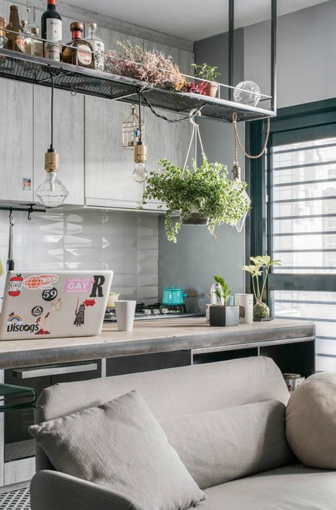 photo 5 1510976213334 Thiết kế căn hộ đẹp nhỏ chỉ vỏn vẹn 30m² nhưng khiến cho bất kỳ ai cũng xiêu lòng