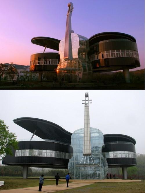Nhà mỏng như giấy A4, kỳ lạ như tàu vũ trụ: Sáng tạo quá đà như thế này chắc chỉ có ở Trung Quốc - Ảnh 6.