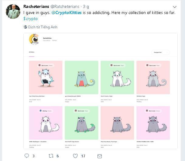 Nuôi mèo ảo đang trở thành cơn sốt của cộng đồng Crypto thế giới, một con có thể bán với giá 2,5 tỷ đồng - Ảnh 6.