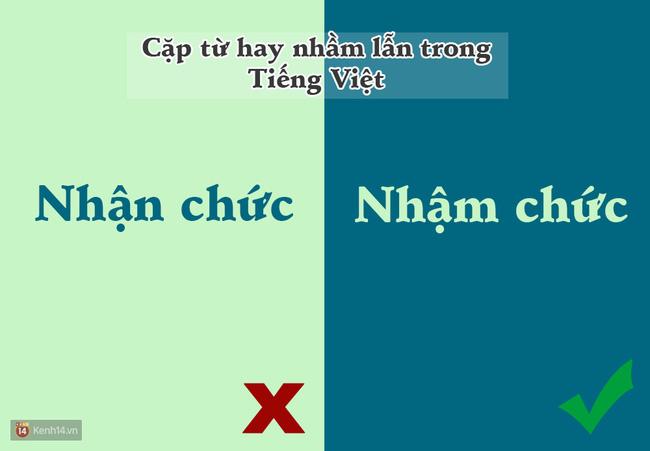 10 cặp từ ai cũng hay bị lẫn lộn trong Tiếng Việt - Ảnh 7.