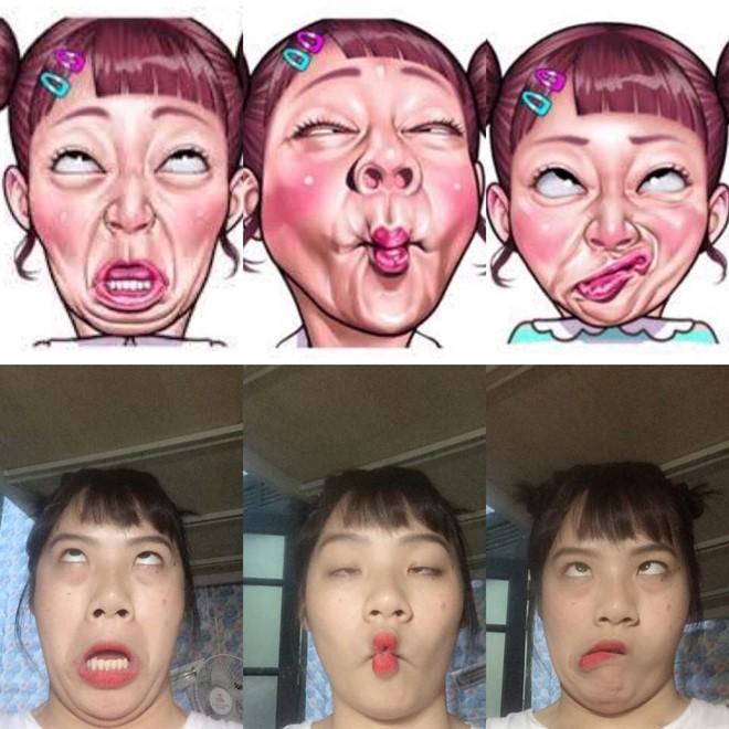Giới trẻ Việt rộ trào lưu selfie càng xấu càng tốt - Ảnh 7.
