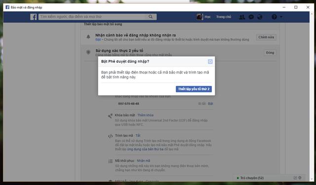 6 mẹo đơn giản giúp nâng cao tính bảo mật cho tài khoản Facebook của bạn - Ảnh 6.