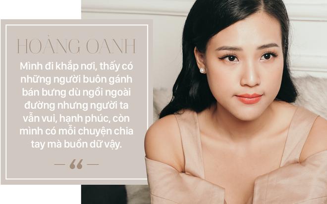Phỏng vấn độc quyền Hoàng Oanh hậu chia tay: Nếu có sai thì là do cả hai đã yêu sai cách - Ảnh 7.