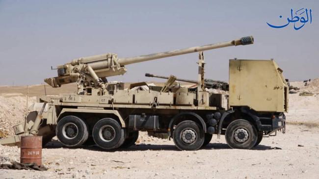 Pháo tự hành tung hoành trên chiến trường Syria - Ảnh 6.