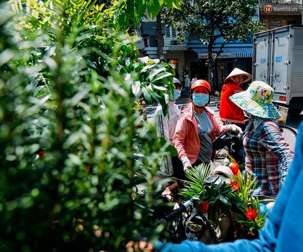 Trên đường phố Sài Gòn, có những người hàng chục năm chở theo một chợ xanh sau yên xe máy - ảnh 7