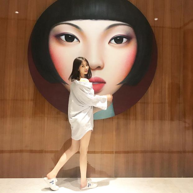 Cô bạn Trung Quốc mặt xinh, dáng đẹp, người gì đâu đáng yêu hết phần người khác - ảnh 7