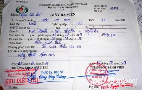 Chuyện kỳ lạ ở Nghệ An: Một bệnh nhân phải cắt ruột thừa... 2 lần - ảnh 6