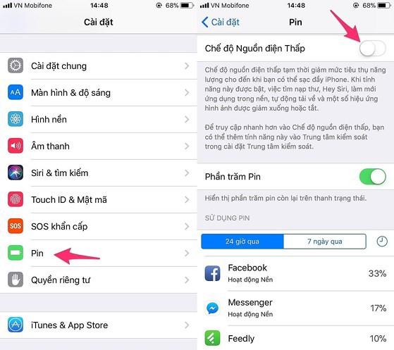 6 mẹo giảm hao pin trên iOS 11 có thể bạn chưa biết - Ảnh 7.