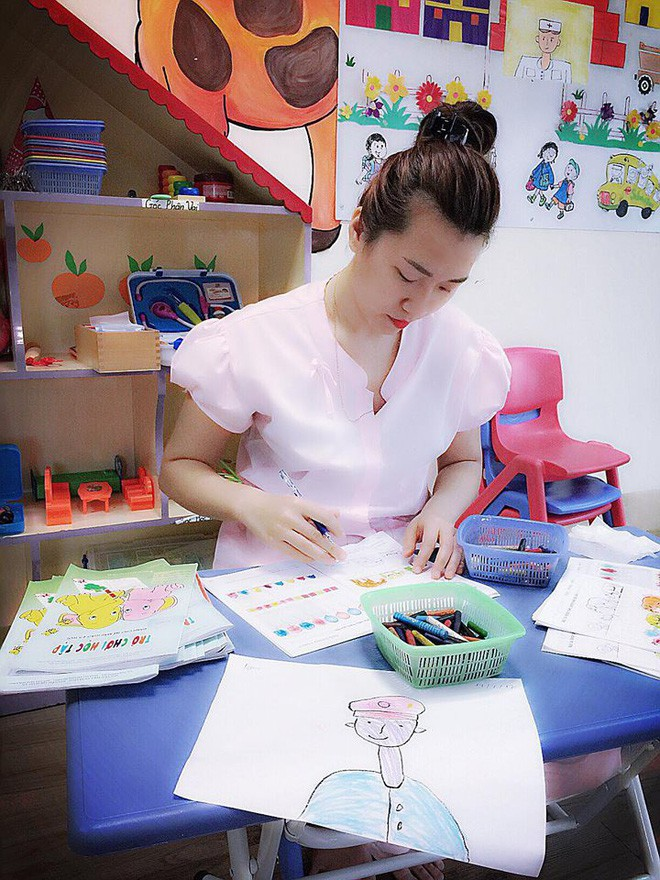 Cô giáo mầm non Hà Nội dí dỏm kể chuyện nghề: Chọn nghề này phải kiêm quá nhiều chữ sĩ - Ảnh 7.