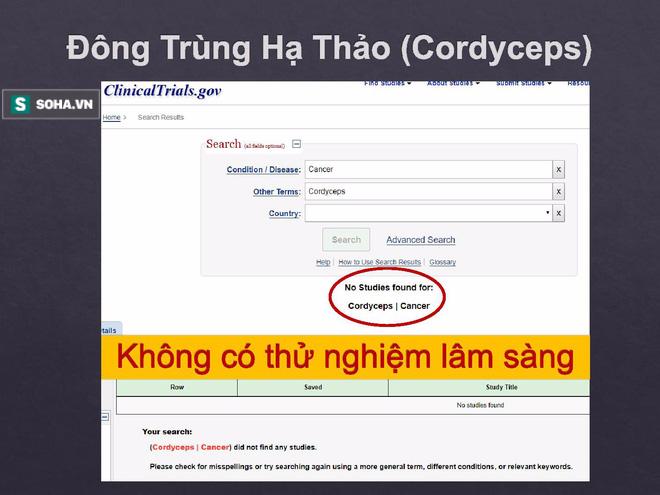 BS Việt tại Nhật bóc sự thật về TPCN trong điều trị ung thư: Tinh nghệ, Fucoidan, đông trùng hạ thảo - Ảnh 8.