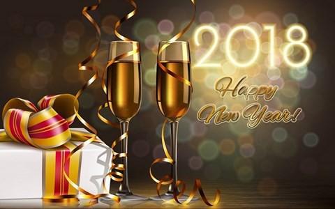 Ảnh đẹp và lời chúc mừng năm mới 2018 hay, ngắn gọn hài hước, ý nghĩa nhất - Ảnh 7.