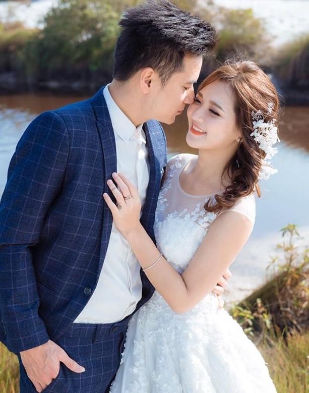 'Hot girl dân tộc' hạnh phúc bên chồng trong bộ ảnh cưới - ảnh 8