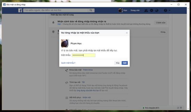6 mẹo đơn giản giúp nâng cao tính bảo mật cho tài khoản Facebook của bạn - Ảnh 7.