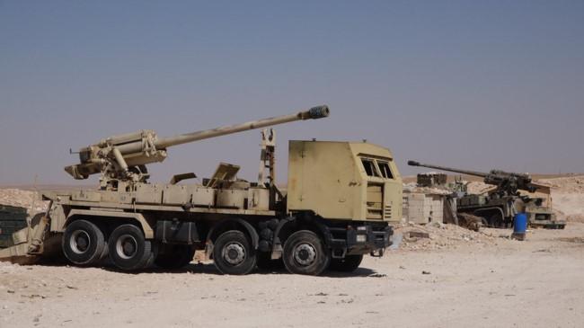 Pháo tự hành tung hoành trên chiến trường Syria - Ảnh 7.