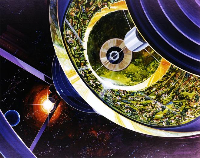 NASA đã từng có ý tưởng xây dựng thành phố ngoài vũ trụ như trong bộ phim Interstellar - Ảnh 8.