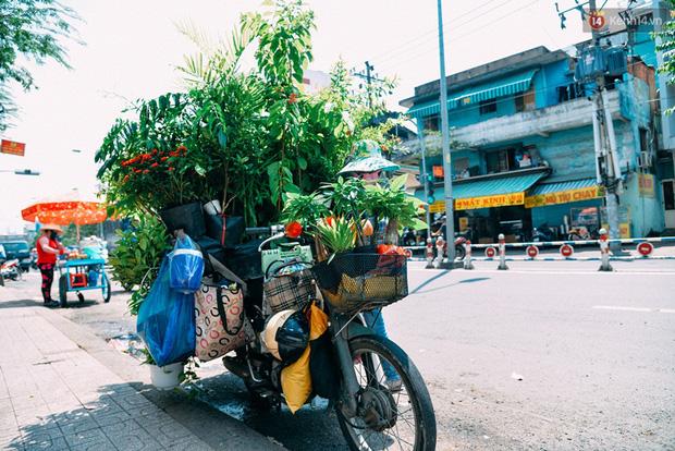 Trên đường phố Sài Gòn, có những người hàng chục năm chở theo một chợ xanh sau yên xe máy - Ảnh 8.