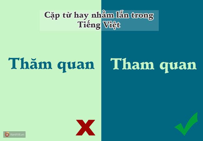 10 cặp từ ai cũng hay bị lẫn lộn trong Tiếng Việt - Ảnh 9.