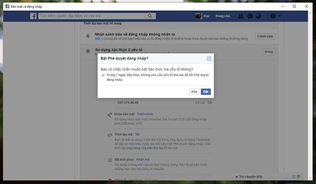6 mẹo đơn giản giúp nâng cao tính bảo mật cho tài khoản Facebook của bạn - Ảnh 8.