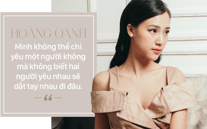 Phỏng vấn độc quyền Hoàng Oanh hậu chia tay: Nếu có sai thì là do cả hai đã yêu sai cách - Ảnh 9.