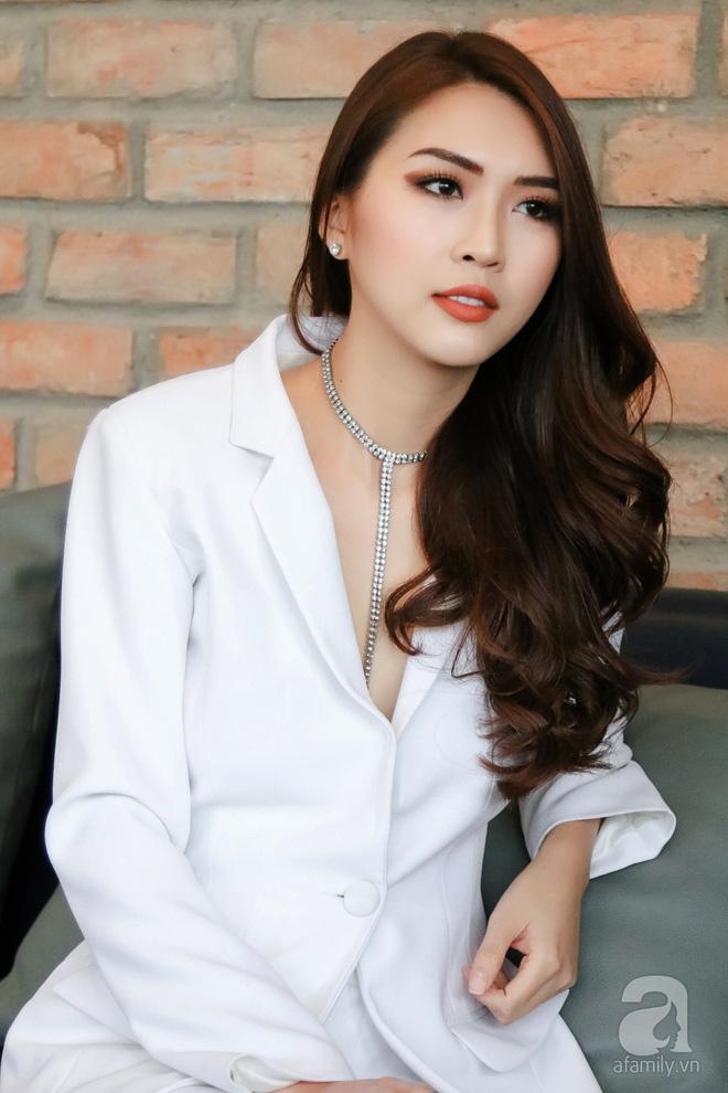 Hoa hậu Tường Linh: Mỗi ngày ngủ được 2 tiếng, nói thí sinh The Face như hot girl kem trộn là thiếu công bằng! - Ảnh 9.