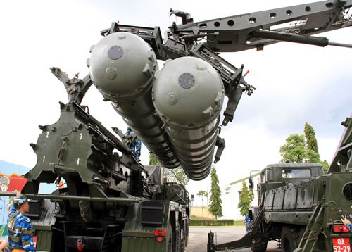 Diễn tập các đơn vị tên lửa S-300PMU1 - Ảnh 9.