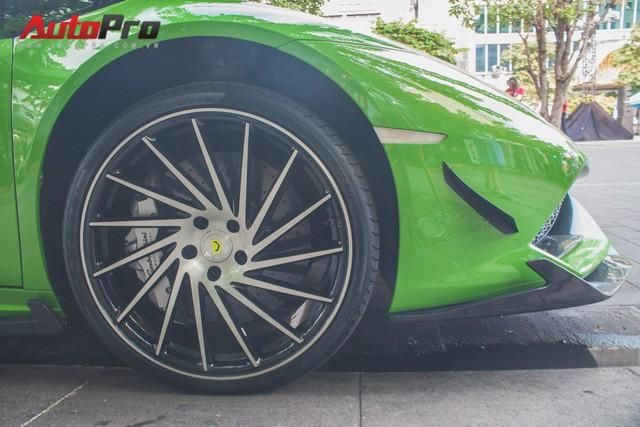 Siêu xe Lamborghini Huracan tái xuất tại Sài Gòn với diện mạo mới - Ảnh 8.