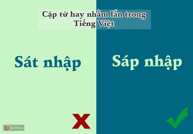 10 cặp từ ai cũng hay bị lẫn lộn trong Tiếng Việt - Ảnh 10.