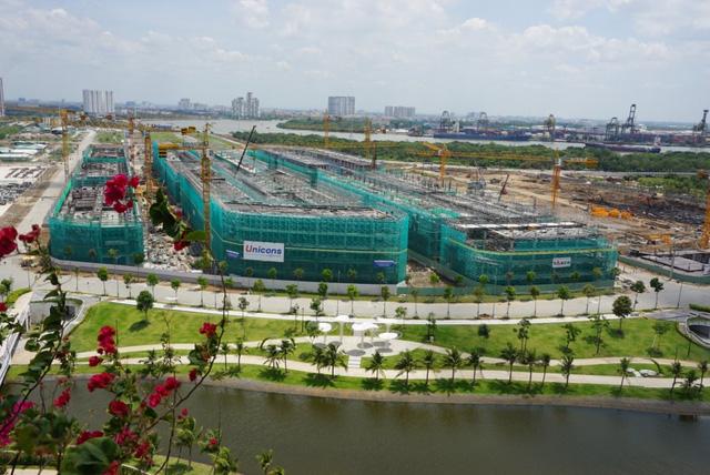 Cận cảnh đại công trường bán đảo Thủ Thiêm sau 4 năm ồ ạt xây dựng - Ảnh 10.