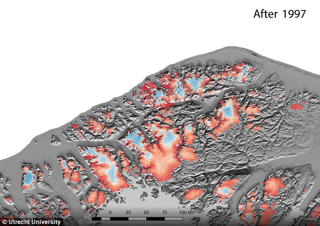 Greenland xuất hiện vết băng nứt bất thường, NASA đứng ngồi không yên - Ảnh 5.
