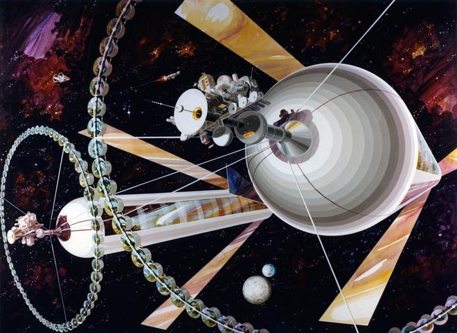 NASA đã từng có ý tưởng xây dựng thành phố ngoài vũ trụ như trong bộ phim Interstellar - Ảnh 10.